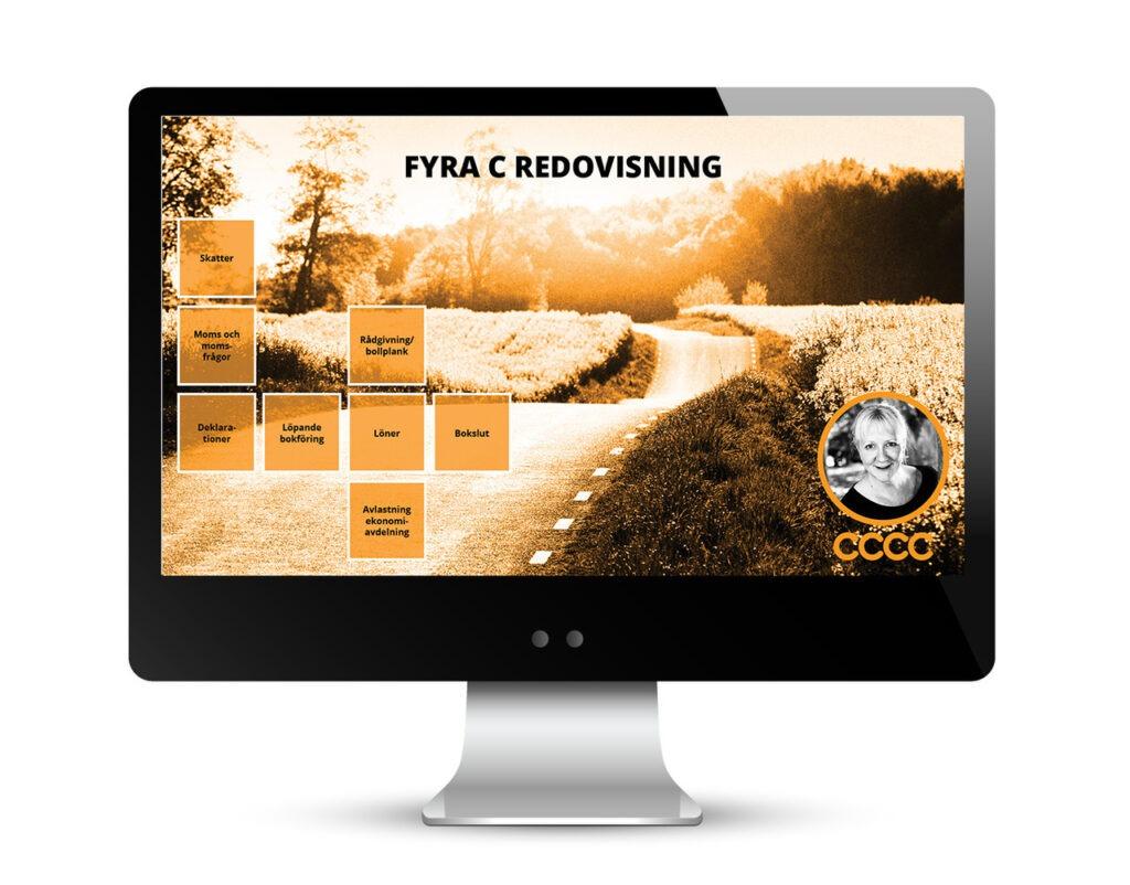 Fyra C Redovisning design