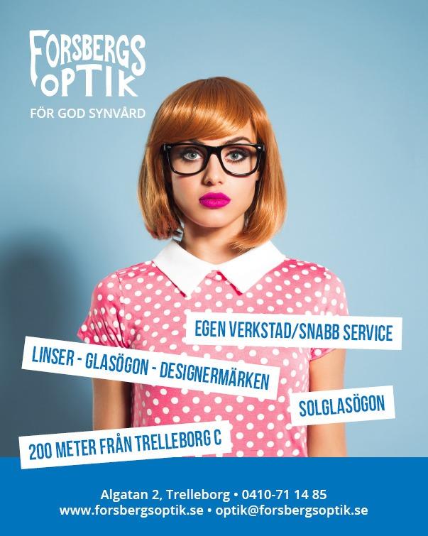 Forsbergs Optik annons