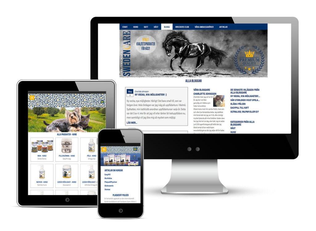 Swedencare web