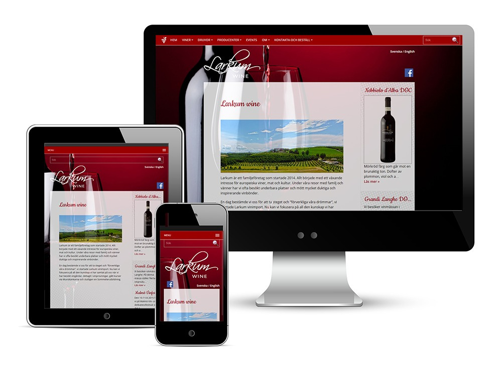 Larkum Wine web