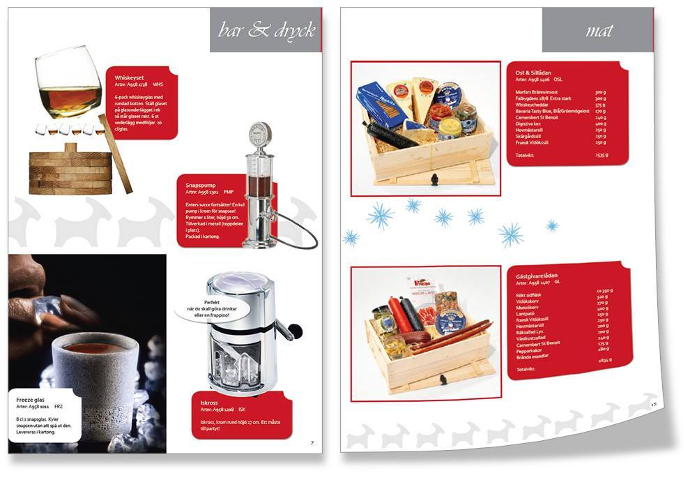 Enterprodukter julkatalog