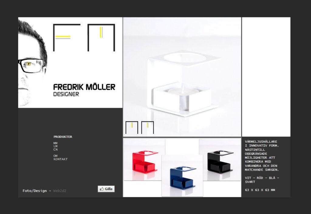 Fredrik Möller - designer web