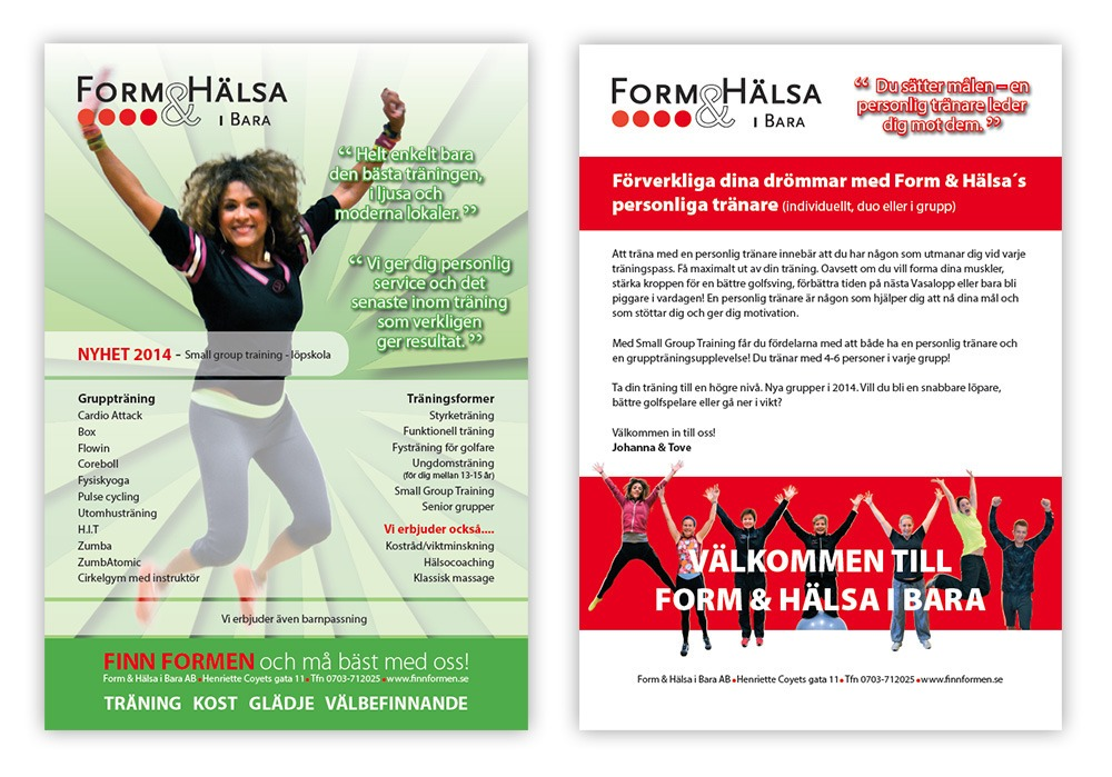 Form & Hälsa i Bara folder