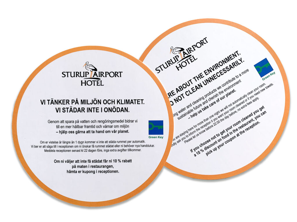 Sturup Airport Hotel trycksak