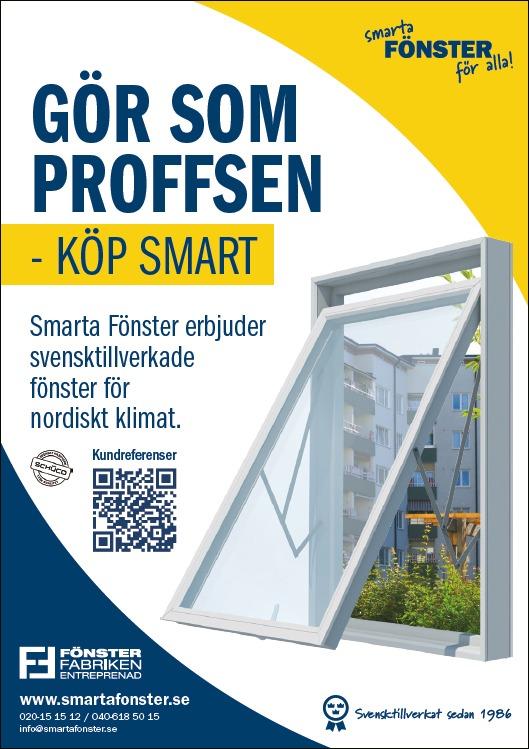 Fönsterfabriken annons